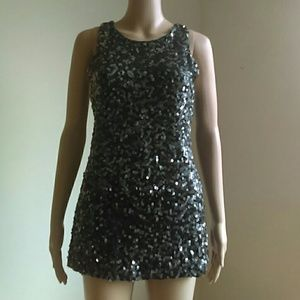 """""""Sequined is it a dress or a top? IDK. Collection"""""""